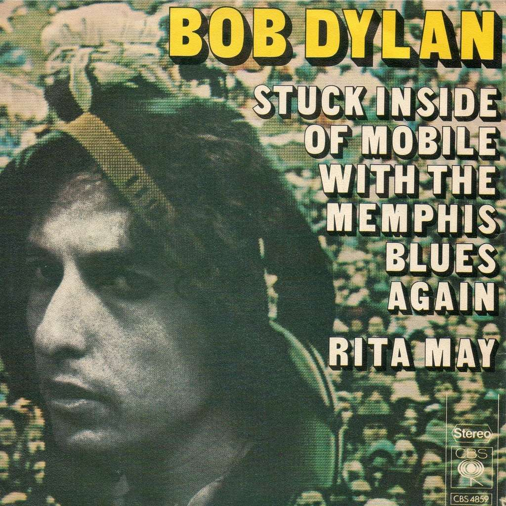 Image result for Bob Dylan - Stuck Inside of Mobile with the Memphis Blues Again