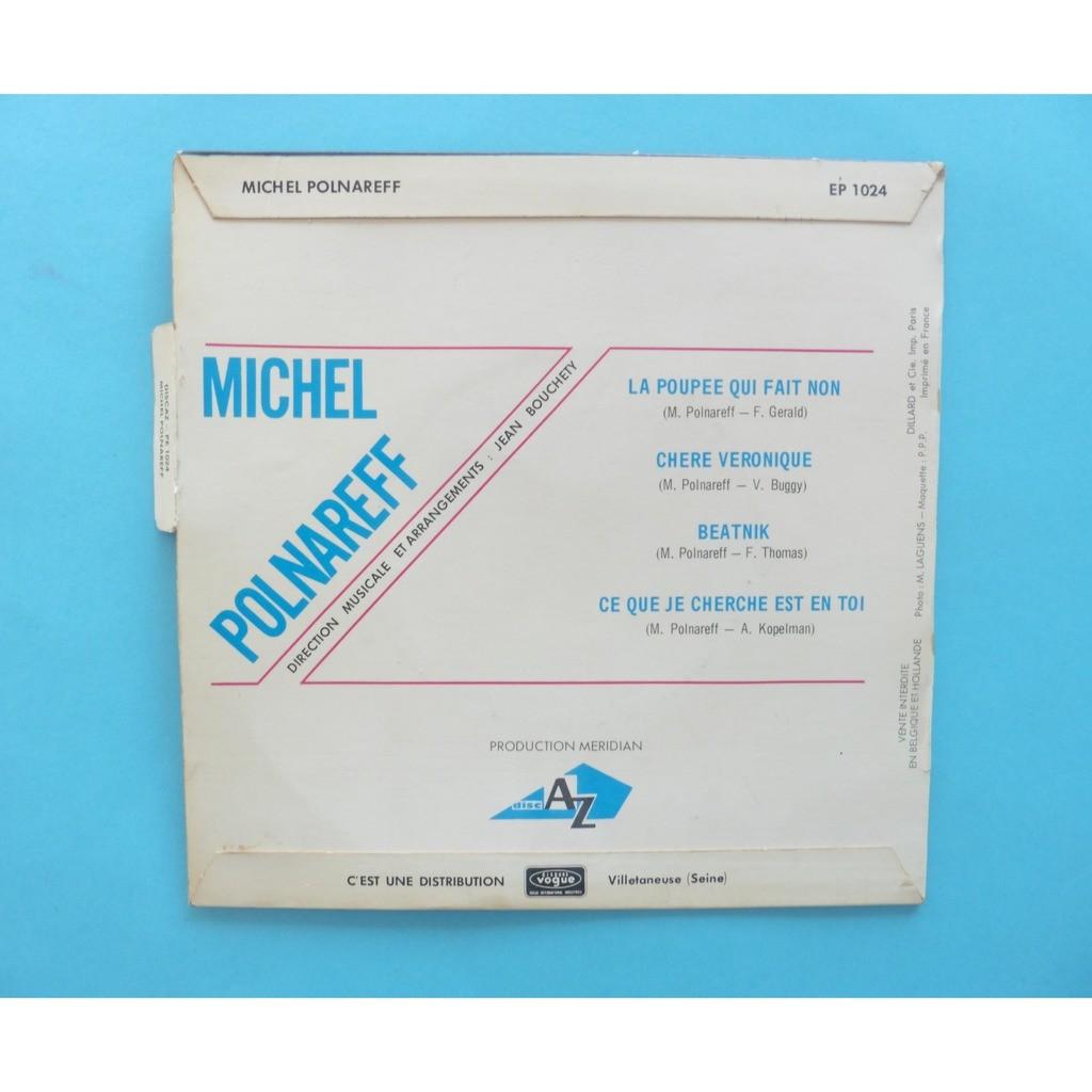 MICHEL POLNAREFF ( LANGUETTE ) LA POUPEE QUI FAIT NON + 3