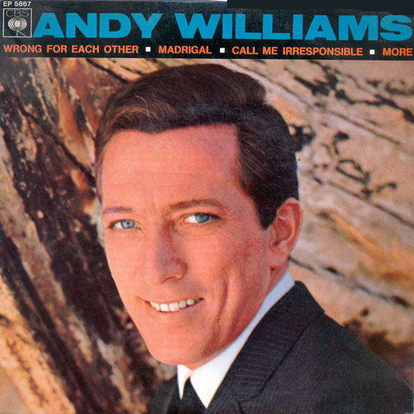 andy williams Call me irresponsible