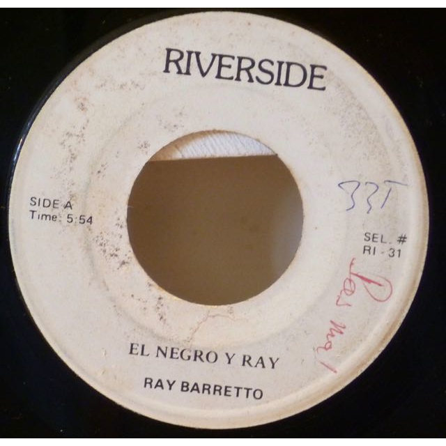 RAY BARRETTO El negro y Ray / Oye heck