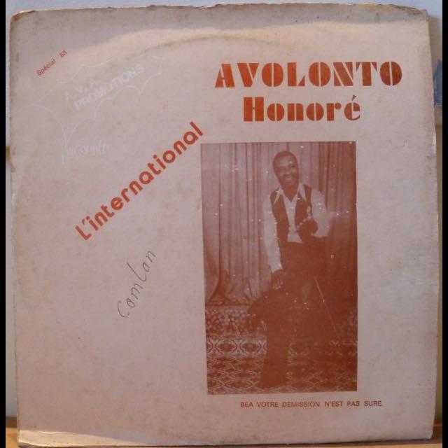AVOLONTO HONORE & POLY RYTHMO S/T - Bea votre demission n'est pas sure