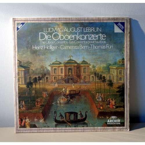HEINZ HOLLIGER & THOMAS FURI & CAMERATA BERN LEBRUN The oboe concertos