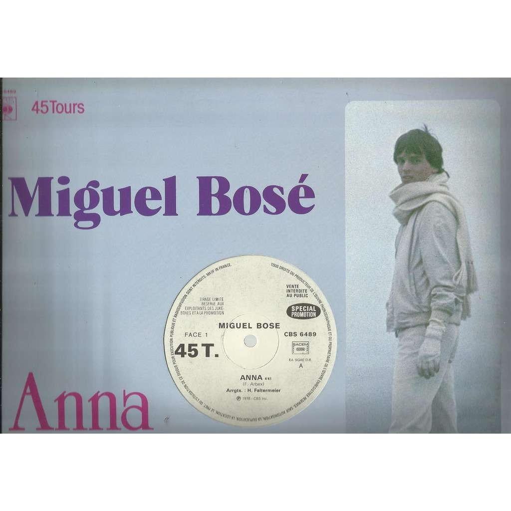 Miguel BOSE anna / lucky guy