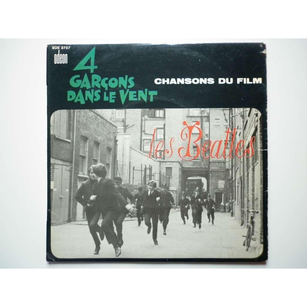 Les Beatles 4 Garçons Dans Le Vent
