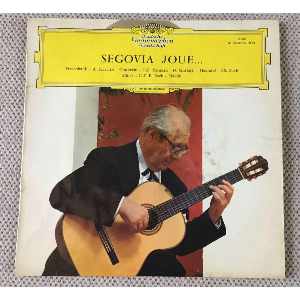 Andres Segovia Segovia joue Frescobaldi Scarlatti Couperin Bach