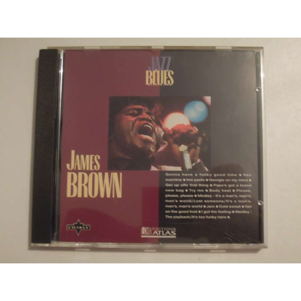 james brown jazz & blues collection n°7