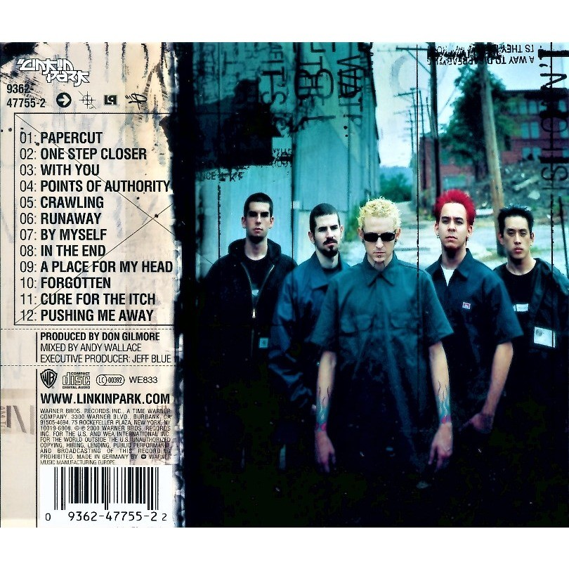Linkin park hybrid Theory Songs Download 320kbps