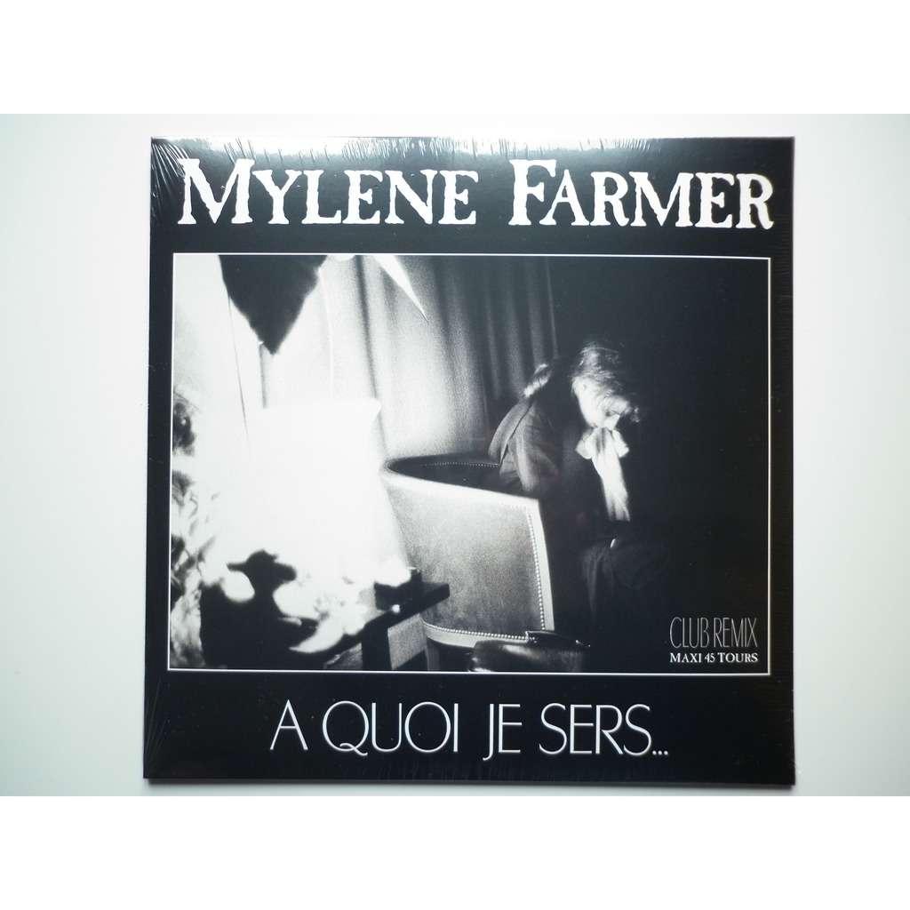 Mylene Farmer A Quoi Je Sers réédition