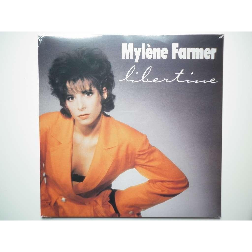 Mylene Farmer Libertine veste orange réédition