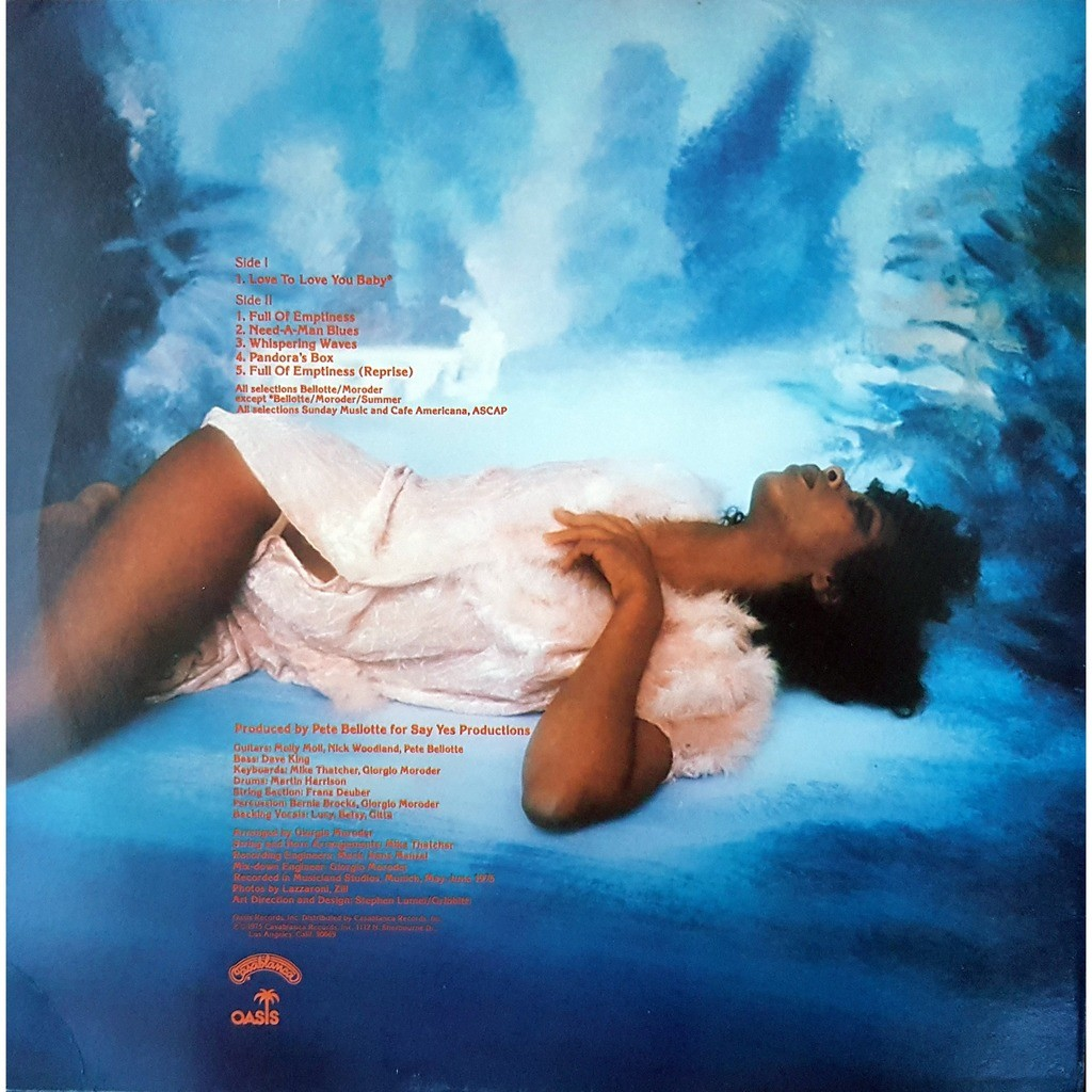 donna summer Love To Love You Baby ( USA )
