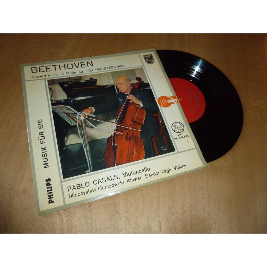 PABLO CASALS / SANDOR VEGH / BEETHOVEN beethoven : klaviertrio Nr. 4 D-dur Op.70,1 (geistertrio)