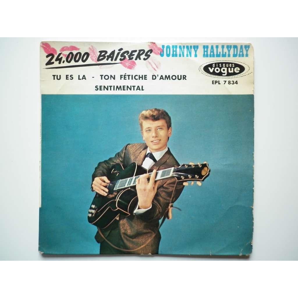 Johnny Hallyday 24.000 Baisers