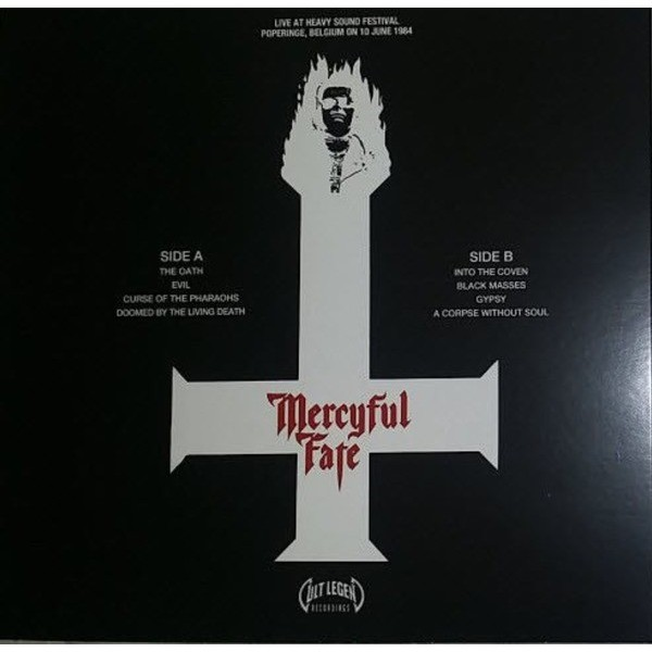 Mercyful Fate Satanic Rites (lp) Ltd Edit Colored Vinyl -E.U
