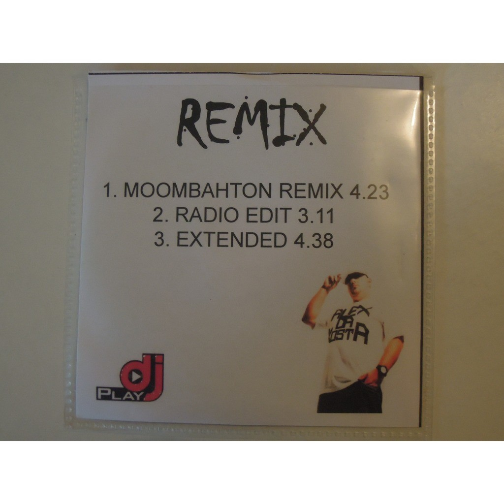 Pegate moombahton remix promo 3 tracks by Alex Da Kosta Feat Solo Dos &  Loquita, MCD with pitouille