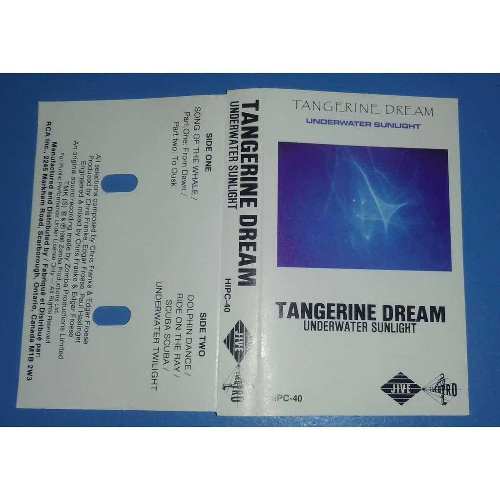 Underwater sunlight by Tangerine Dream, Tape with nutshell - Ref ... for Underwater Sunlight Tangerine Dream  83fiz