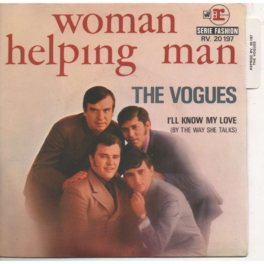 vogues woman helping man