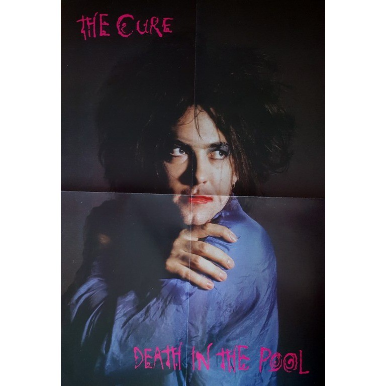 The Cure Death In The Pool (lp) Ltd Edit Colored Vinyl + Poster -E.U