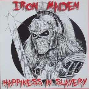 Iron Maiden Happiness In Slavery (7) Ltd Edit Colored Vinyl -USA