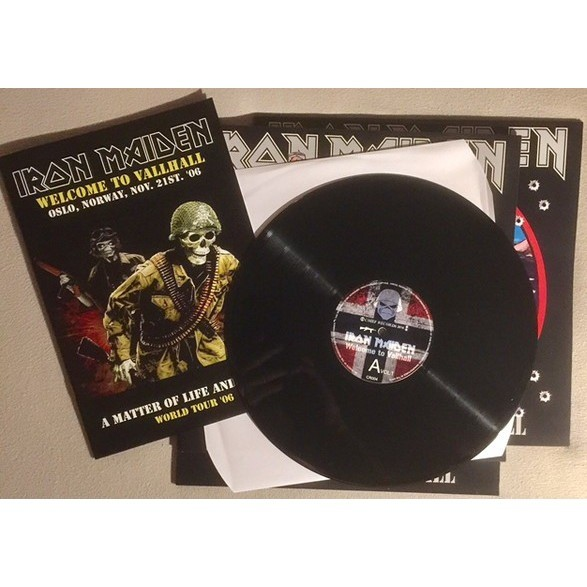 Iron Maiden Welcome To Vallhall Vol.1-2-3 (3xlps) Ltd Edit With Colour Booklet -Norway