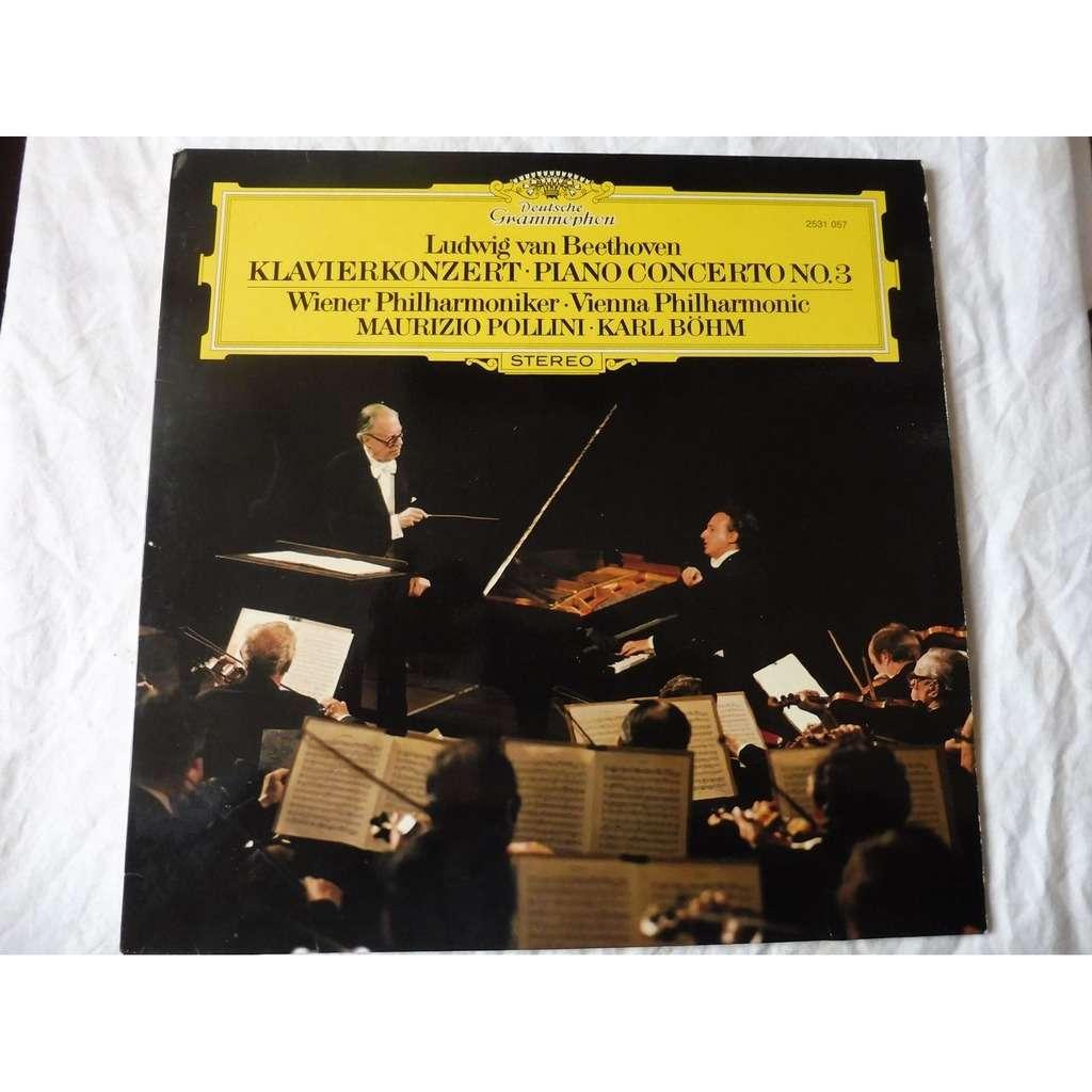 Maurizio Pollini, piano - Karl Boehm Beethoven : concerto pour piano N° 3 - ( stéréo )
