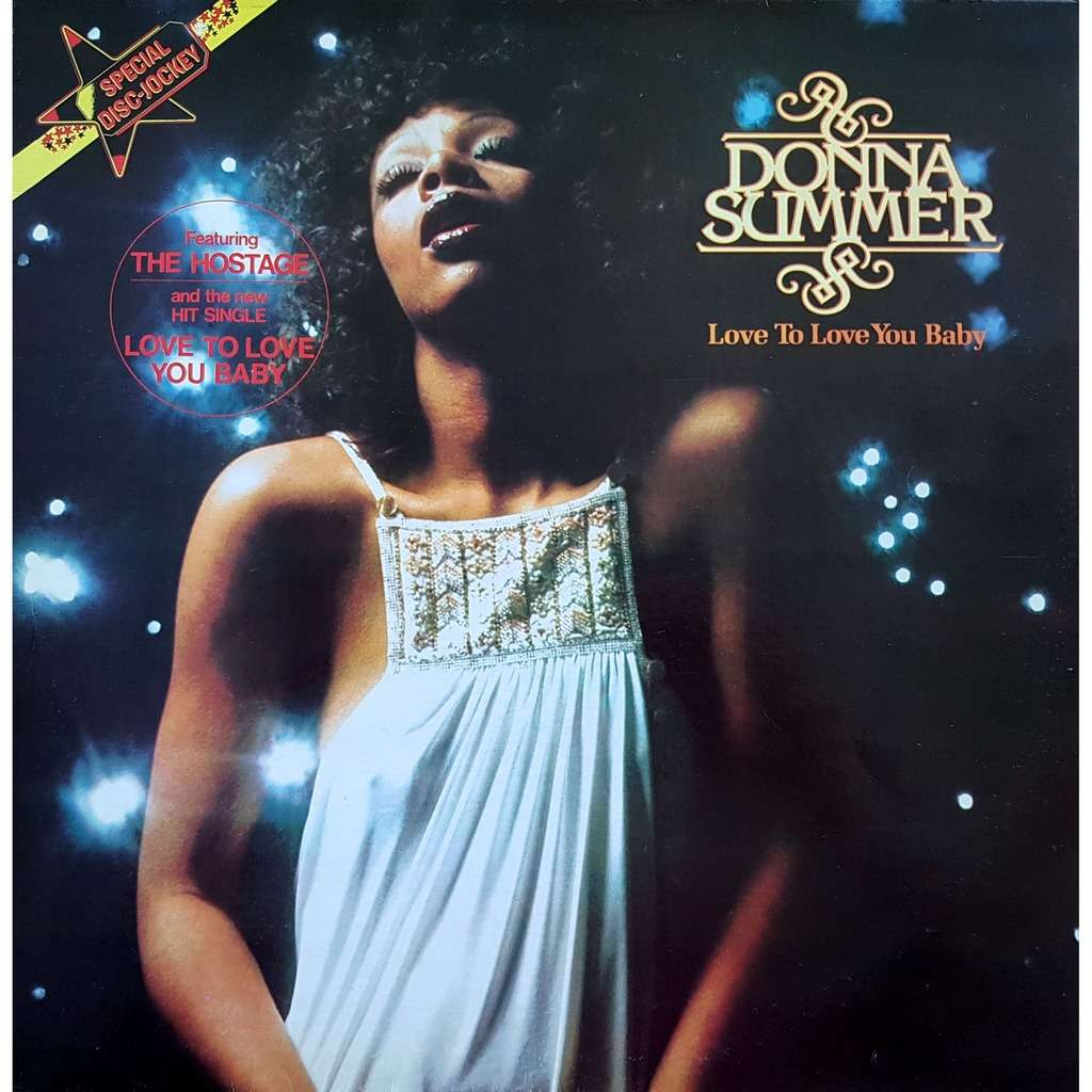 Donna Summer Love To Love You Baby (France 1975)