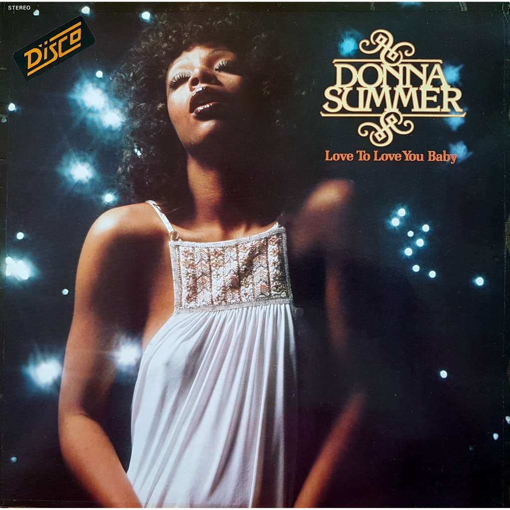 Donna Summer Love To Love You Baby (Vogue France 1975)