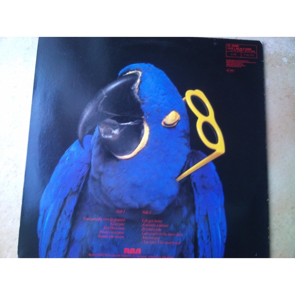 graham parker the real macaw