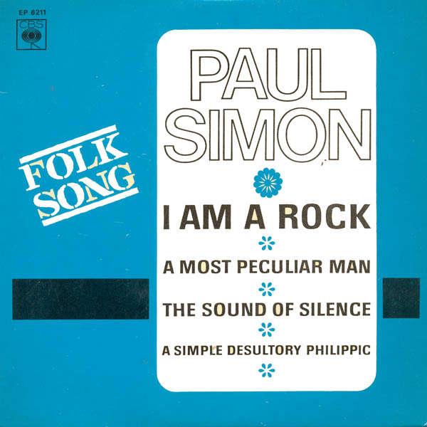 paul simon I am a rock