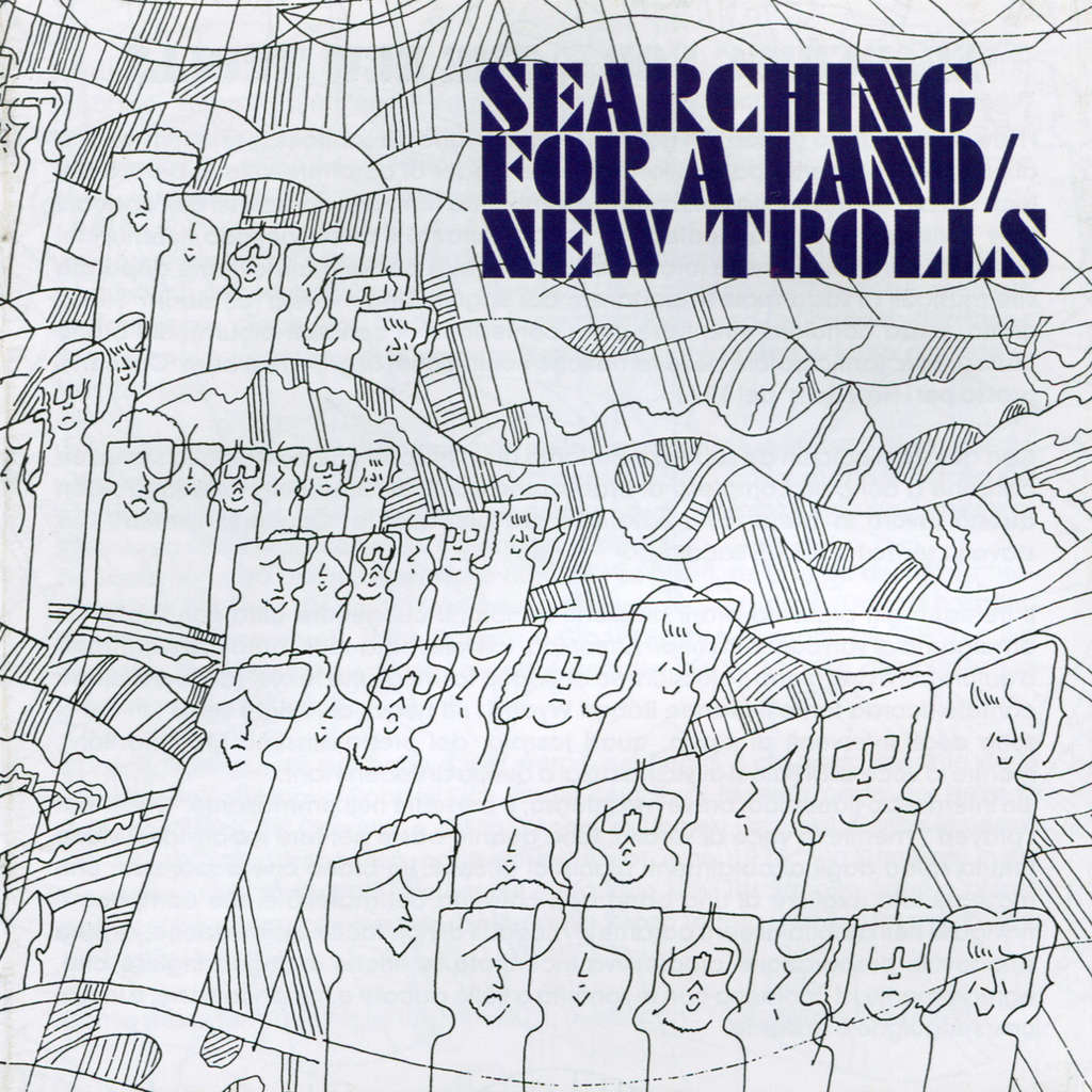 Searching for a land by New Trolls, CD with solarfire - Ref:119099428