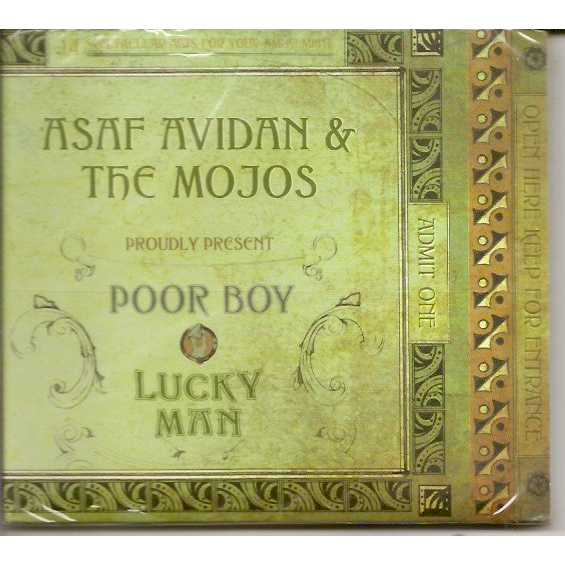 ASAF AVIDAN & THE MOJOS - POOR BOY - LUCKY MAN ALBUM …