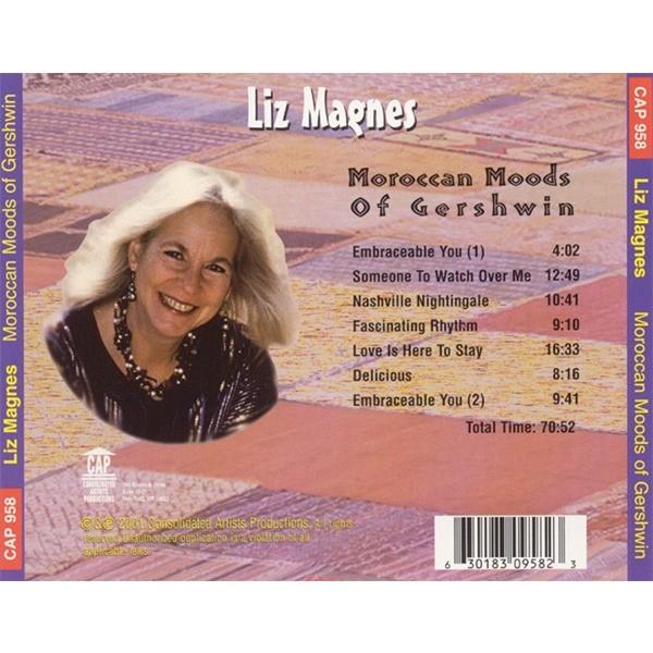 Liz Magnes Moroccan Moods Of Gershwin