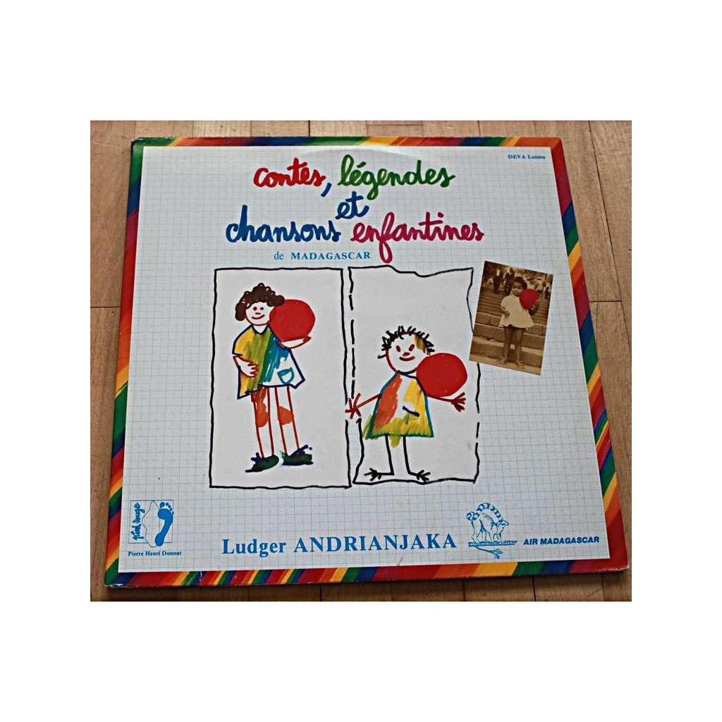 ludger andrianjaka contes, légendes et chansons enfantines de Madagascar