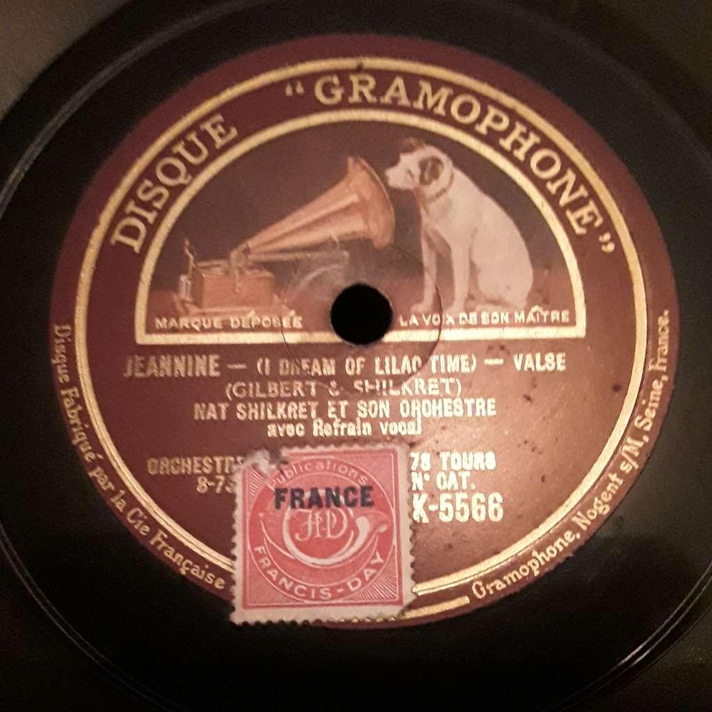 Nat shilkret et l'orchestre Victor Jeannine - California here i come