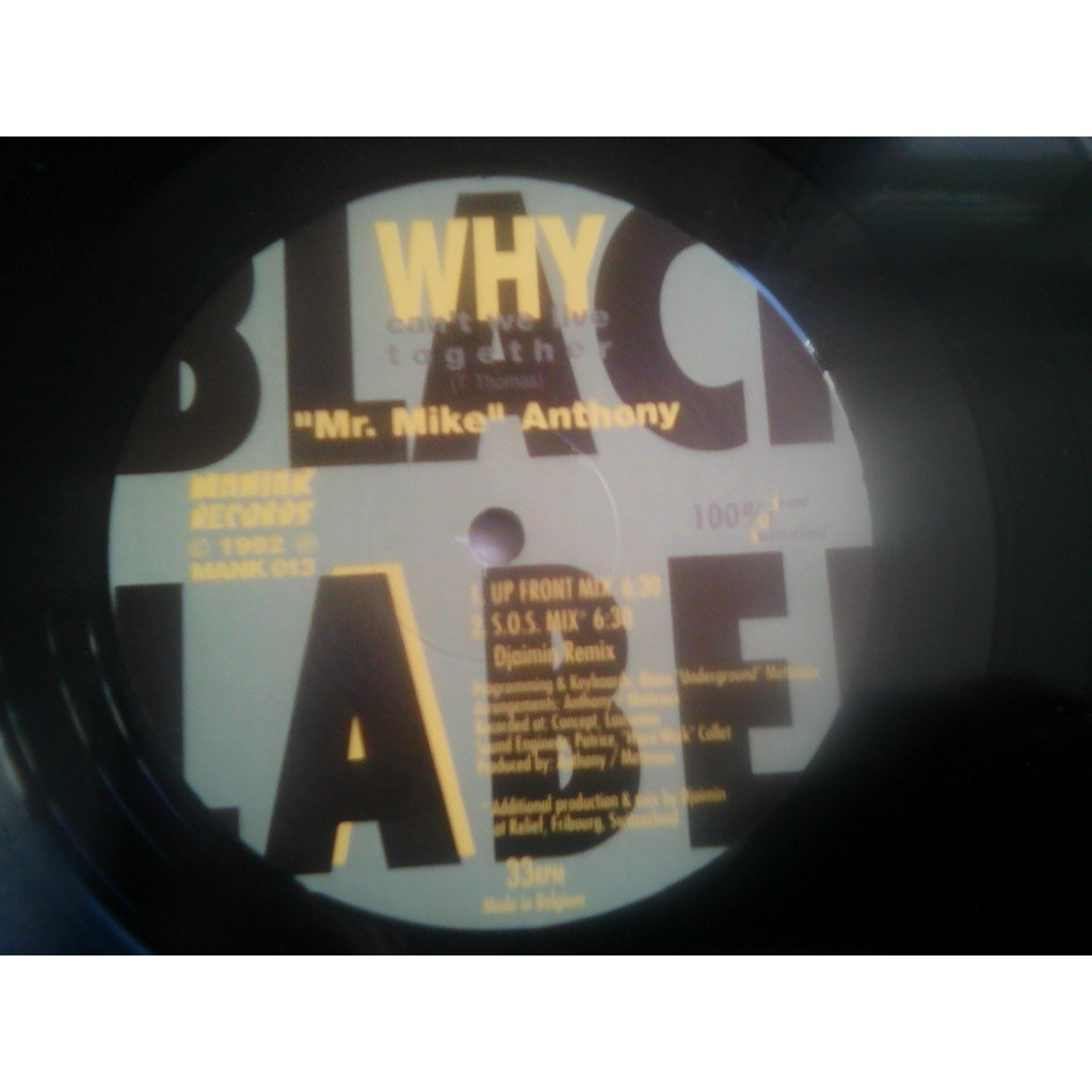 Mr. Mike Anthony* - Why Can't We Live Together ( Mr. Mike Anthony* - Why Can't We Live Together (12)