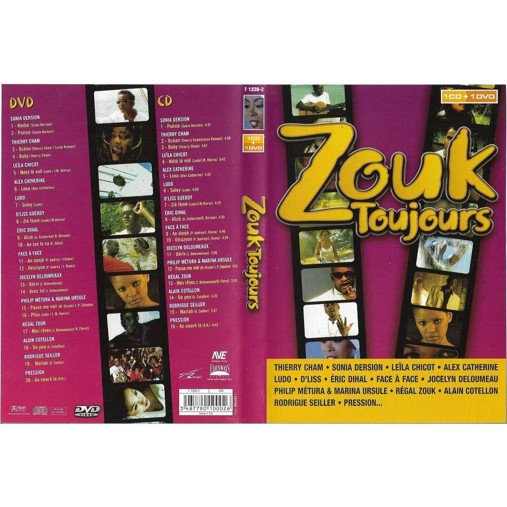 divers artistes - various artist Zouk Toujours (cd+dvd)