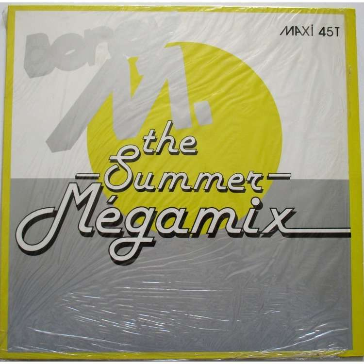 BONEY M THE SUMMER MEGAMIX.