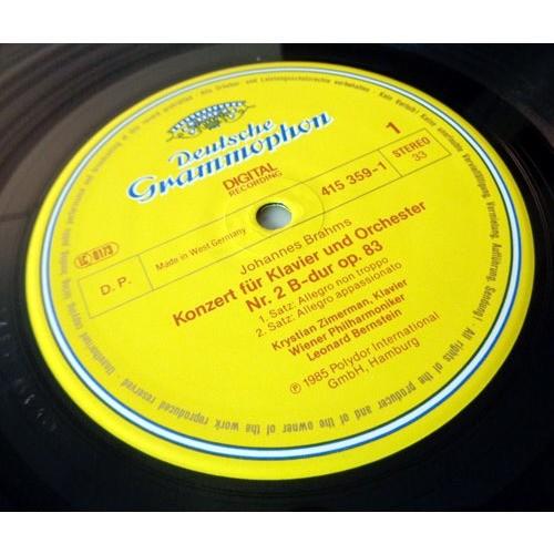 KRYSTIAN ZYMERMAN & LEONARD BERNSTEIN BRAHMS Piano concerto n°2
