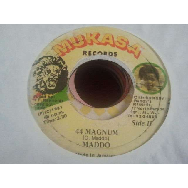 MADDO (MADOO) LONELY YOUNG GIRL / 44 MAGNUM ORIG.