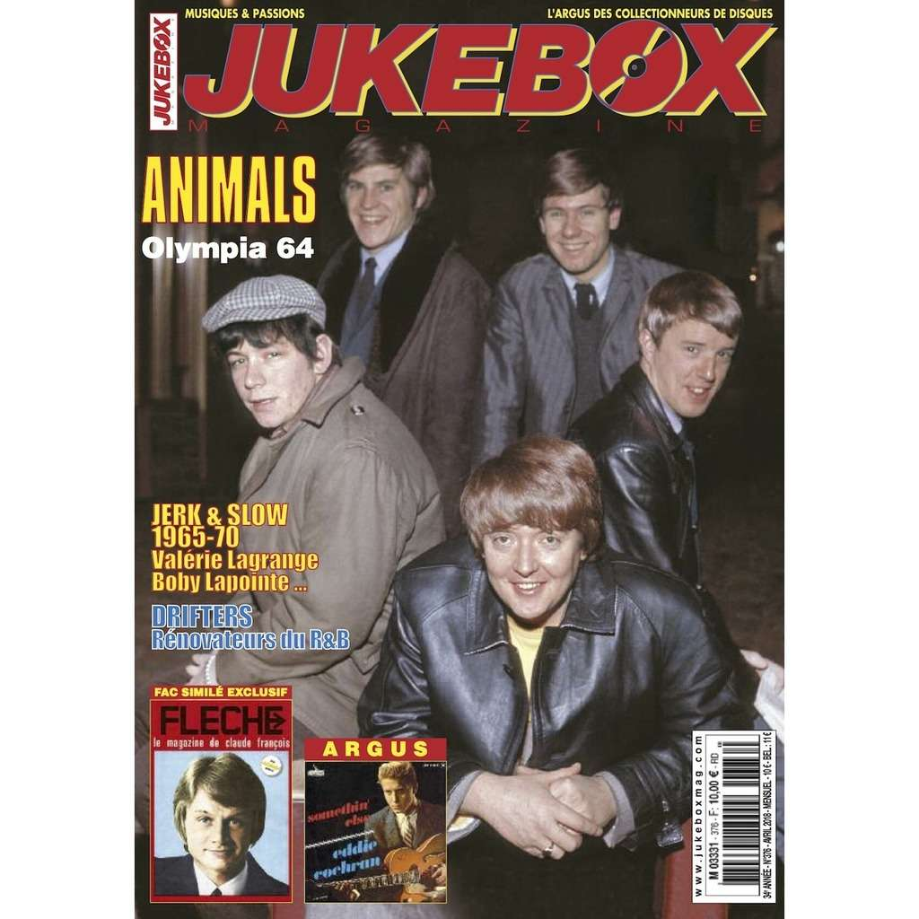 N°376 (AVRIL 2018) ANIMALS MAGAZINE - JUKEBOXMAG.COM