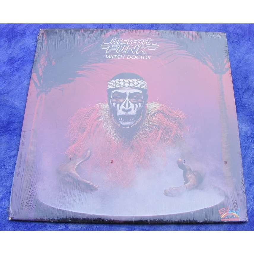 Instant Funk Witch Doctor : Witch doctor by instant funk lp with grey ref