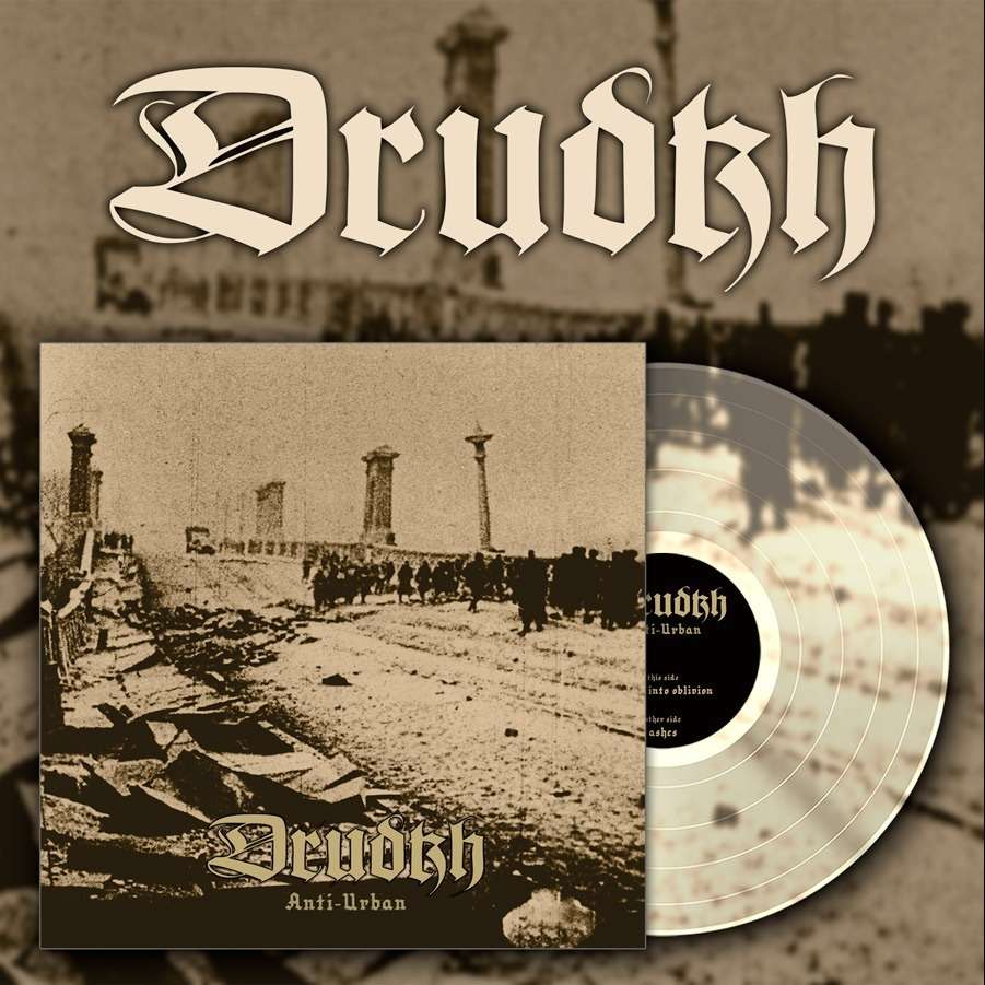 DRUDKH anti urban  clear vinyl, LP for sale on