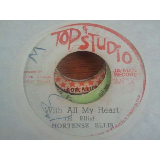 HORTENSE ELLIS / JAH MAN ALL STARS WITH ALL MY HEART / VERSION ORIG