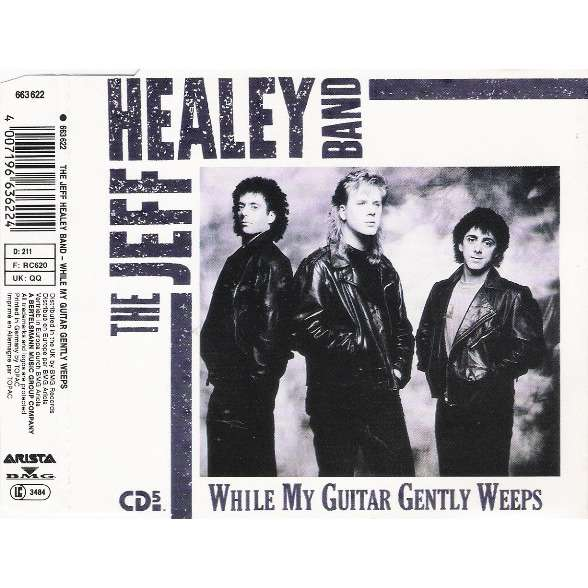 While my guitar gently weeps by The Jeff Healey Band, MCD with ...