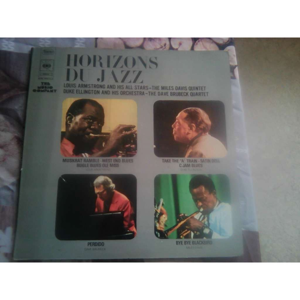 VARIOUS HORIZONS DU JAZZ 50 ANS DU PLUS GRAND JAZZ -with booklet -