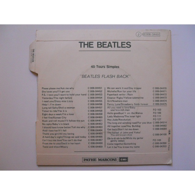 Beatles Please Please Me-Ask me Why