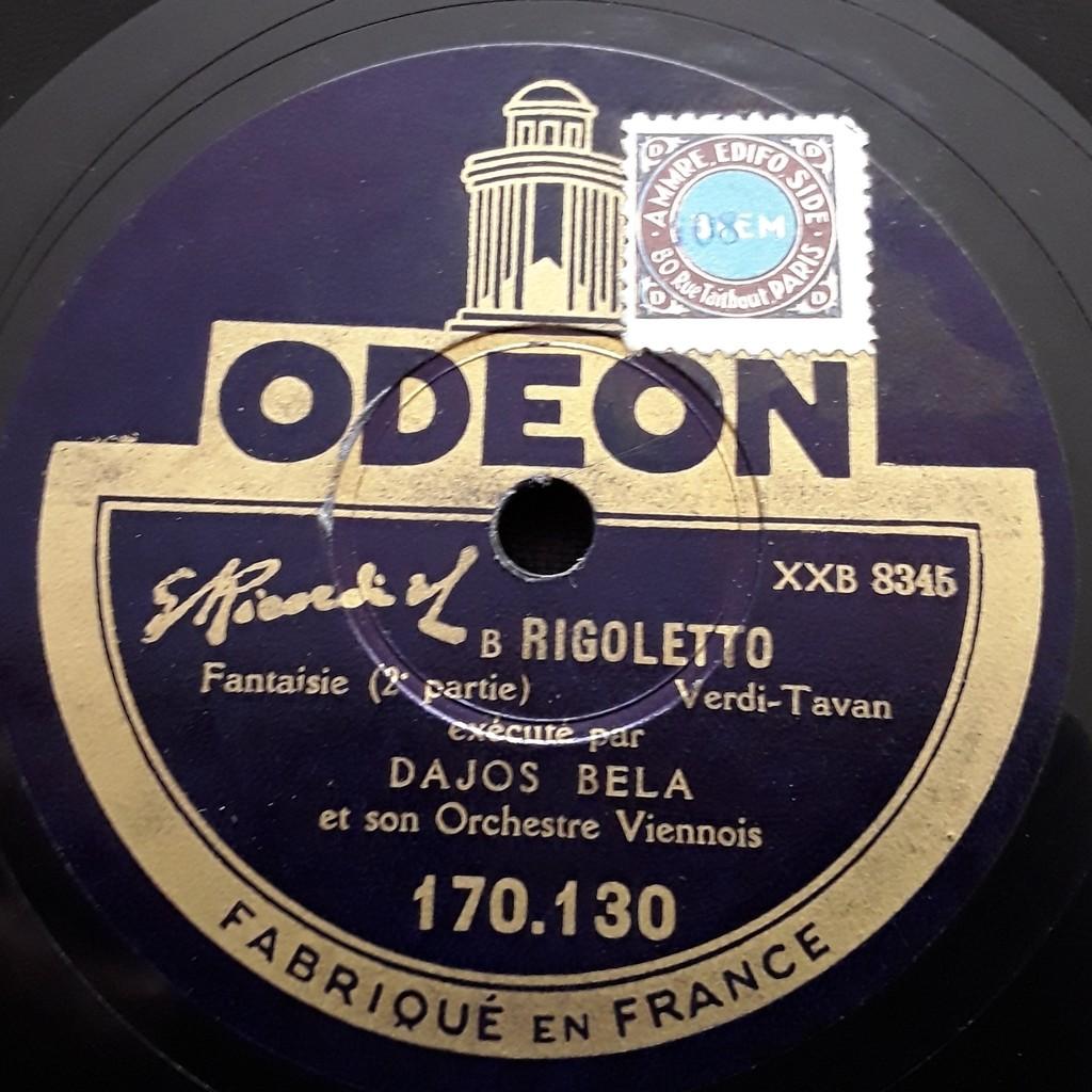 Dajos bela - Verdi Tavan Rigoletto - Fantaisie ( 1 et 2 Parties )