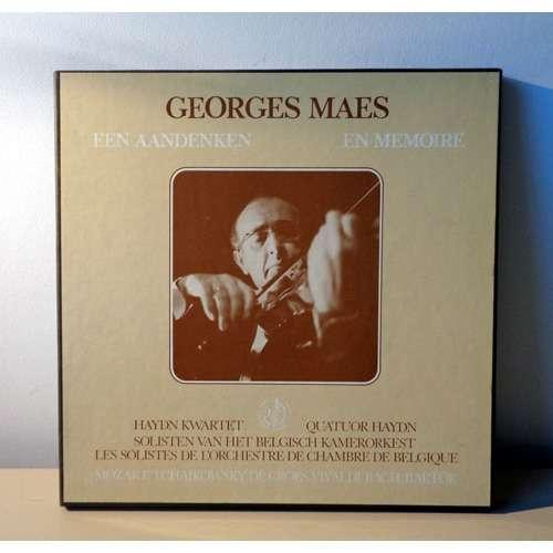 GEORGES MAES En memoire ( QUATUOR HAYDN / ORCHESTRE DE CHAMBRE DE BELGIQUE  / CONCERTISTE )