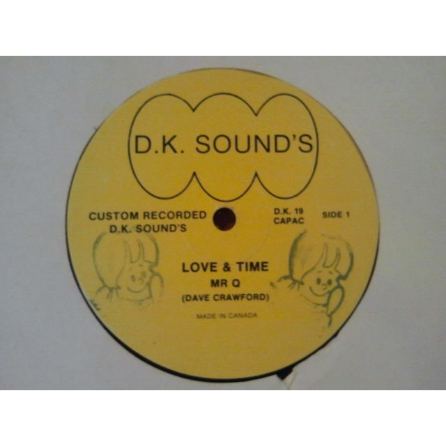 Mr Q (DAVE CRAWFORD) LOVE & TIME / RAPPING TIME ORIG.