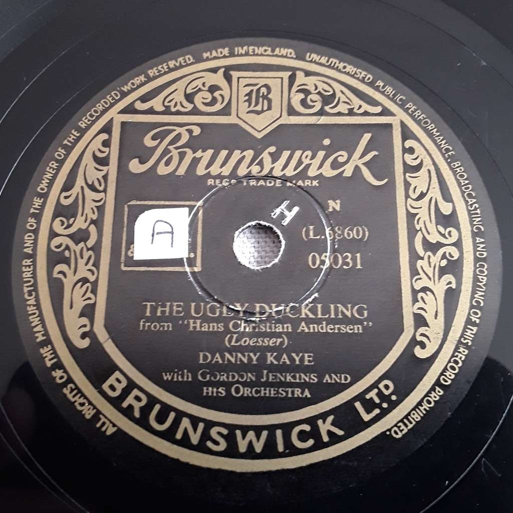 Danny Kaye with Gordon Jenkins & Orch. The ugly duckling - The king's new clothes