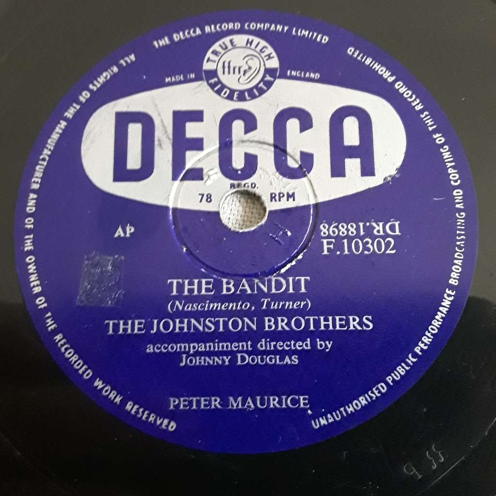 The Johnstone Brothers - The Keynotes The bandit - A dime and a dollar